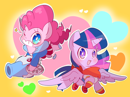 Chibi Ponytale by thegreatrouge
