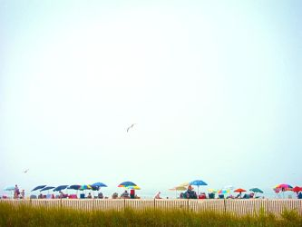 Cape May Skyline by emshore