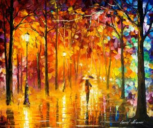 Signals Of Love by Leonid Afremov by Leonidafremov
