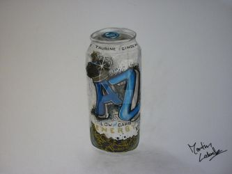Arizona Energy Drink drawing by Martinsito15