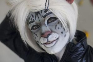 Gabriel. The Snow Leopard. Cute version by Kittenboy
