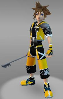 IMVU Sora M Kingdom Hearts by ps2105