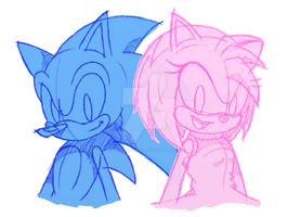 Not SonAmy ~ Happy Valentine's '18!! by SonicDBZFan4125