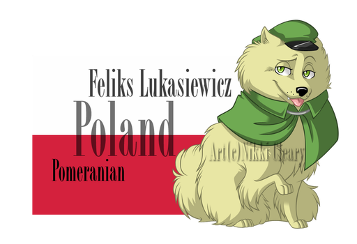 Hetalia Dogs: Poland by snickerdoots
