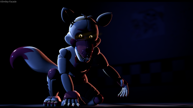 SFM | The Fox is waiting in the dark by Smiley-Facade