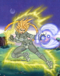 Super Saiyan Josie by Epscillion - Colored by RBL-M1A2Tanker