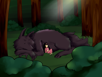 the woods are dangerous by DiamondEyes14