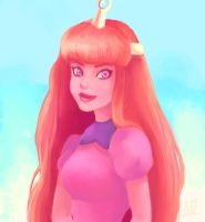 Princess Bubblegum by LornaKelleherArt