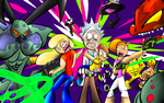 Rick and Morty Contest entry 3 by Thesimpleartist4