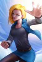 Android 18 by LONEOLD