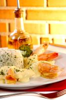 King Shrimp with Mayonnaise by Markhal