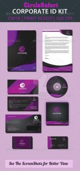 Circlesafari-corporate-id-pack-preview by ExtremeLogo