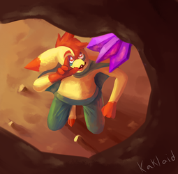 Cave exploration by Kaklaid