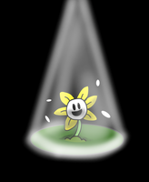 Flowey the flower by Pyeshii