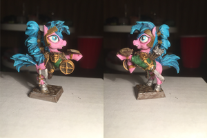 Pink Ranger Pony Table-Top Miniature by NPCtendo