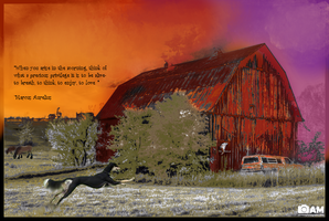 Barn w/ quote by DemonaTheOperator
