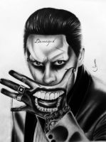 Drawing Joker Suicide Squad by jhonatan23
