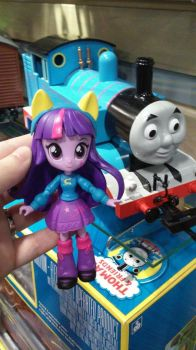 Twilight with G Scale Bachmann Thomas by WynterStar93