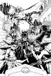 The Bat Family Inks by craigcermak