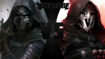 Death Battle Kylo Ren Vs. Reaper V2 by Alvin1794