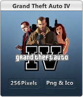 Grand Theft Auto IV - Icon by Crussong