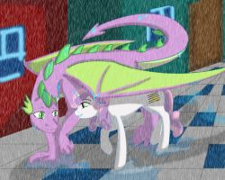Spike is Best Umbrella by No-Shining-Knight