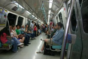 Istanbul Metro by Mottcalem