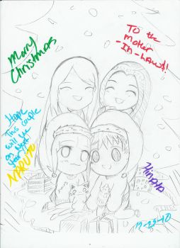 Merry X-mas Mother in Laws NH by NelNel-Chan