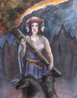 Hecate by badgersoph
