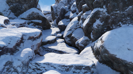 Stones and Snow by Andrey79