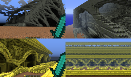 Mandelbulb to Minecraft 4 by Theli-at