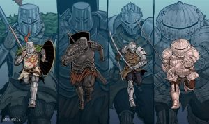 Dark Souls: Jolly Cooperation by MenasLG