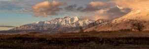 Snow-Covered Peaks by artisticimposter