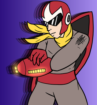 protoman by brentsquared