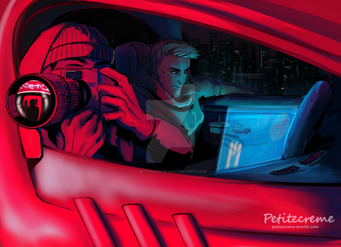 Overwatch - Stakeout by Petitecreme