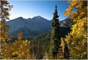 Fall in the Rockies by tourofnature
