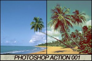 Photoshop Action 001 by ToxicActions