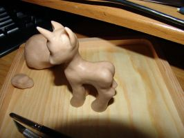 WIP - My Little Pony Sculpture by y2hecate