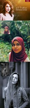 Oil Painting Photoshop Actions Version.2 For Free by symufa