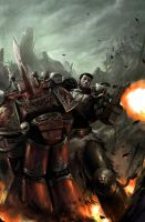 Warhammer 40k Cover by torei