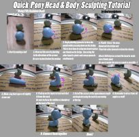 Quick Head And Body Tutorial by dustysculptures