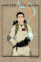 Peter Venkman - Ghostbusters by markwilson85