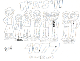 MASH Cast - Seasons 4 and 5 by happy-kittens