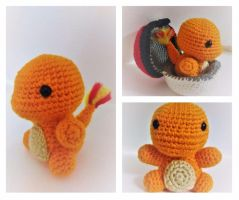 Little Crochet Charmander 2.0! by jenny3793