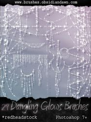 GIMP Dangling Glows Brushes by Project-GimpBC