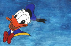 Donald Duck 85th Birthday by Daniela-Kot91
