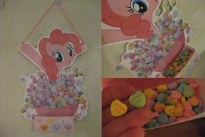 Pinkie Pie Candy Hearts Holder by Anthro7