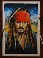 Captain Jack Sparrow by Kriscorpion