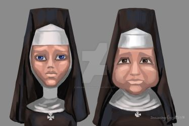 NUNS stylization by DreamingSengA