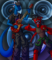 Dragon Rock Band by Lord-Kiyo